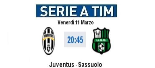 Juventus-Sassuolo in diretta live su BlastingNews