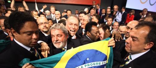 Lula Da Silva il giorno della scelta di Rio 2016