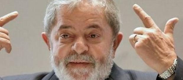 Ex presidente do Brasil Luis Inácio Lula da Silva