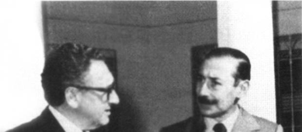 Henry Kissinger principal colaborador de los genocidas