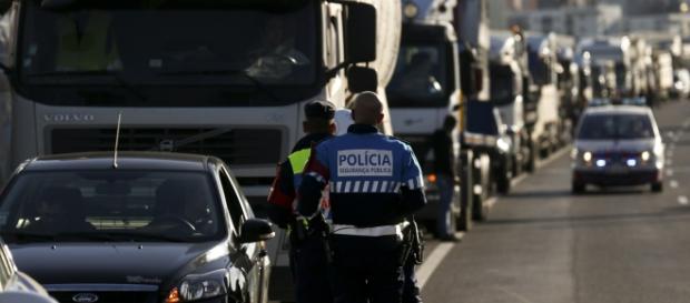 Lisboa esteve bloqueada devido a protesto.