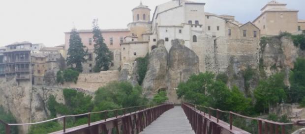 Uma das entradas da parte velha de Cuenca/ES.