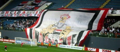 O São Paulo defronta o Palmeiras