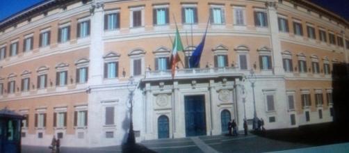 Montecitorio, sede del parlamento