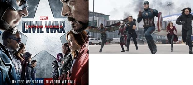 Captain America: Civil War - TeamCap v TeamIronman