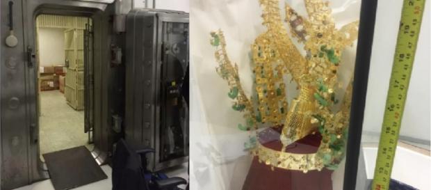 Coroa de Lula é encontrada pela Polícia Federal