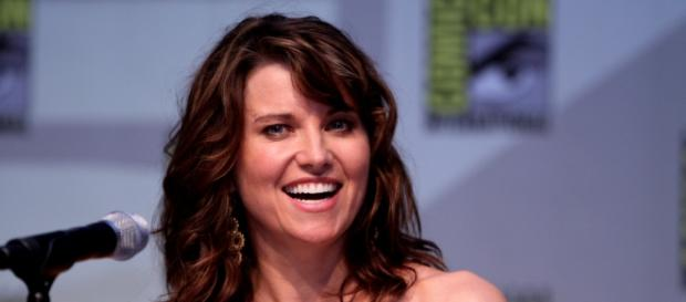 Lucy Lawless, a Xena original.