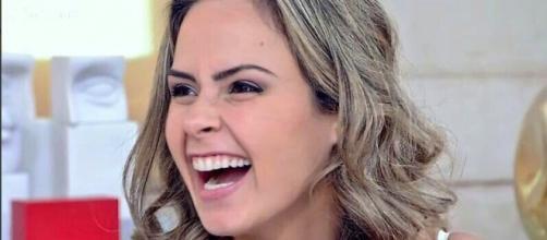 Ana Paula no 'Encontro' (Reprodução/Globo)