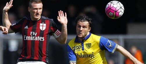 Chievo-Milan 0-0. Il match delle 12:30 della 29^.