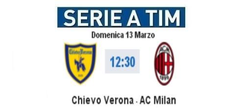 Chievo-Milan in diretta su BlastingNews
