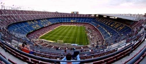 Imagen del Camp Nou (Barcelona)