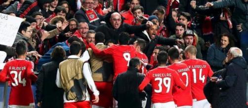 O Benfica joga no Estádio da Luz