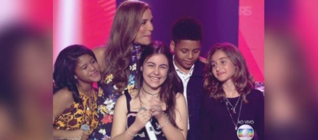 Ivete Sangalo no 'The Voice Kids Brasil'