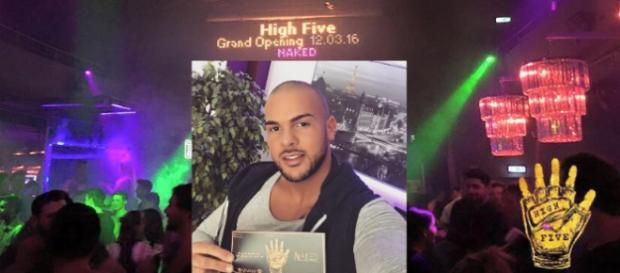 Manuel Campa organisierte die High Five-Party