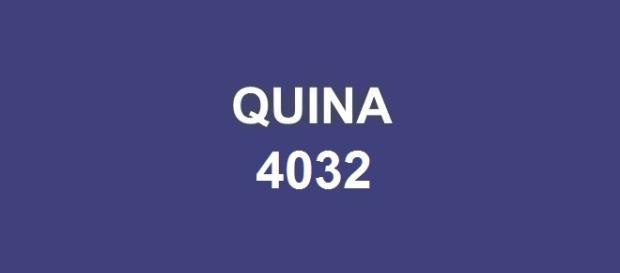 Prêmio Quina 4032 sorteado nesse sábado, dia 12.