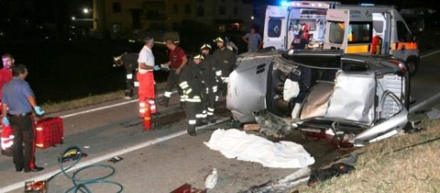 Un grav accident rutier la Treviso