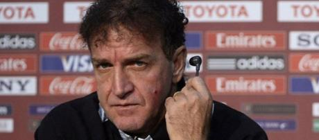 Cuca, novo técnico do Palmeiras.