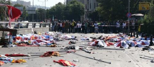 Brutal atentado en Ankara, más de 36 fallecidos.