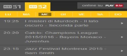 Champions League diretta tv su RSI LA2 16 marzo