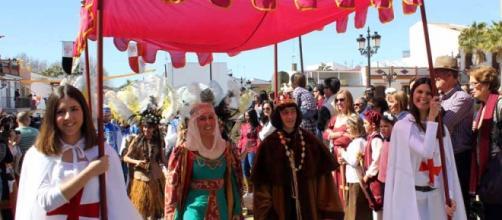 Desfile del Descubrimiento. FOTO: GARDEU