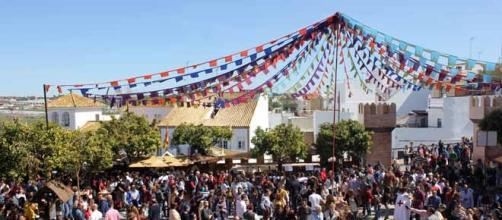 Entrada a la Feria Medieval. FOTO: GARDEU