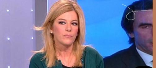 Esther Palomera en una tertulia de televisión.