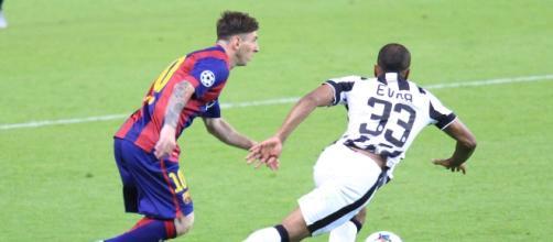 Juventus, Evra manda un messaggio al Napoli