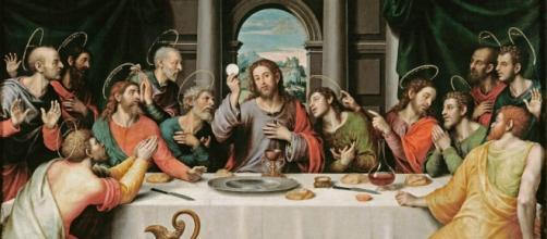 La Última Cena, escena típica de la Semana Santa