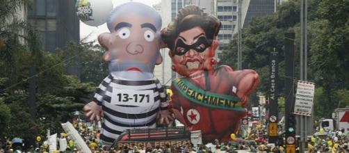 Multitudinaria marcha contra el gobierno en Brasil