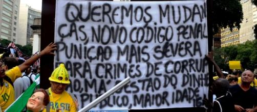 O povo quer justiça: Sergio Moro presidente
