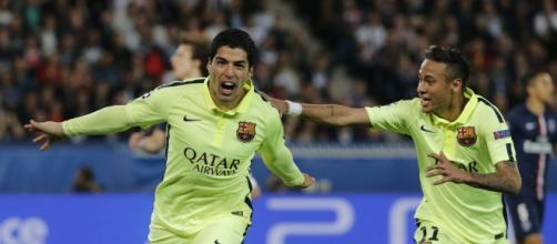 Reprodução: Instagram/Neymar e Suárez
