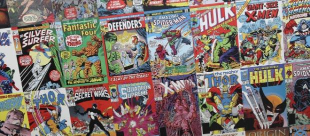 Comic books via Flickr Sam Howzit CC2.0