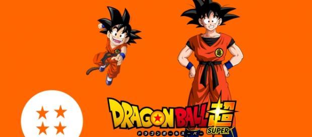 Foto de Goku en su paso por Dragon Ball