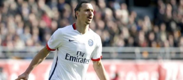 Ibrahimovic campeão pelo Paris Saint Germain