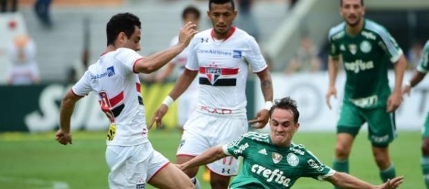 Jogo entre São Paulo e Palmeiras