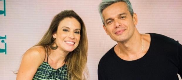 Maíra Charken e Otaviano Costa - Foto/Reprod