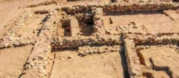 Supostas ruínas da cidade bíblica de Sodoma