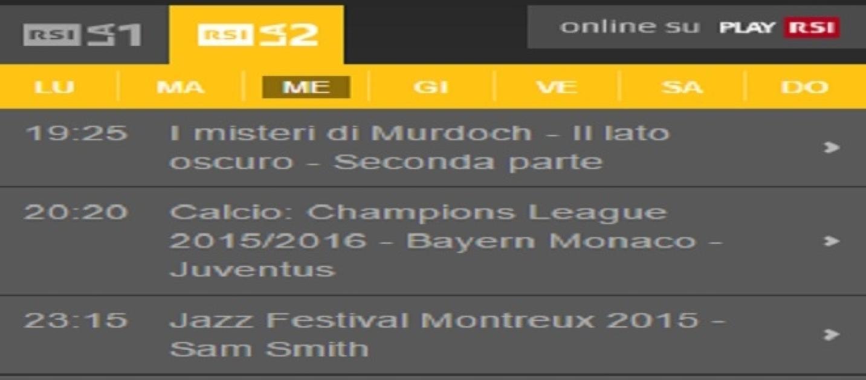 Juve Monaco Tv