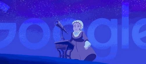 A Google celebra o 266º aniversário da astrónoma.