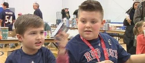 Brady y Landin en una clase juntos