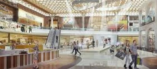 Immagine del nuovo centro commerciale di Arese