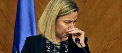 La jefa diplomática de Europa. De redes sociales.