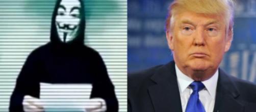 La nuova campagna di Anonymous contro Trump.
