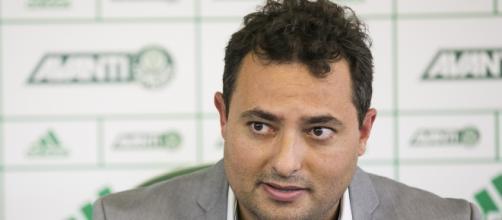 Mattos, executivo de futebol do Palmeiras.