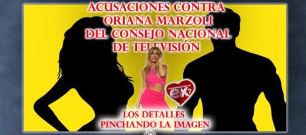 Acusaciones a Oriana del consejo Chileno de tv