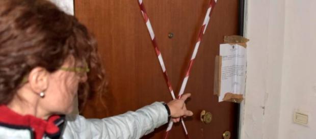 Apartamentul unde a avut loc omorul, sigilat