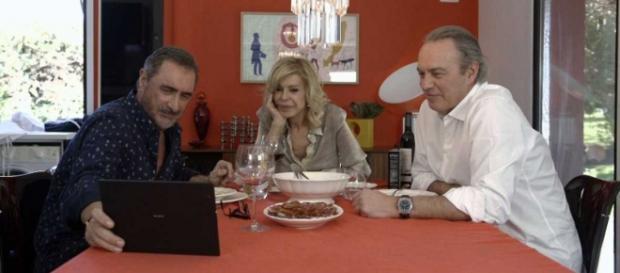 Carlos Herrera, Bibiana y Bertín