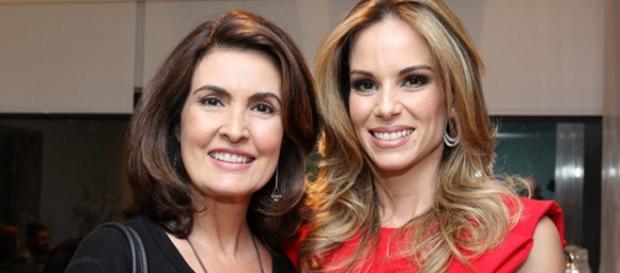 Fátima Bernardes e Ana Furtado - Foto/Reprodução