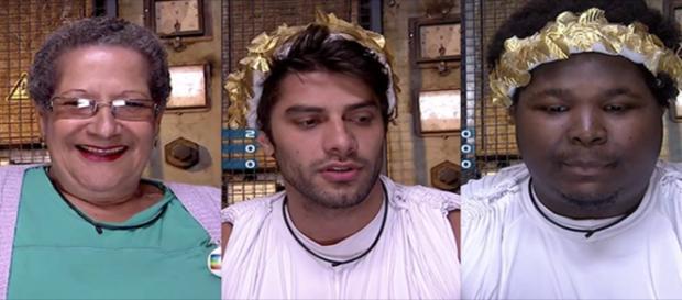 Geralda, Renan e Ronan. Quem deverá sair hoje?