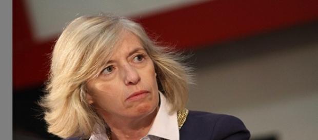 Il Ministro dell'istruzione Stefania Giannini